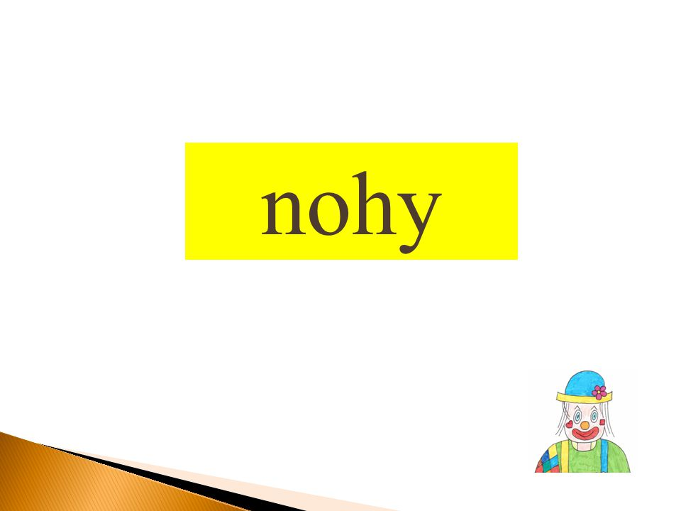 nohy