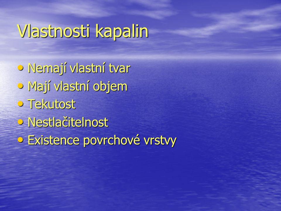 Těleso plave F vz > G F vz > G ρ K > ρ T ρ K > ρ T Dřevo ve vodě Dřevo ve vodě