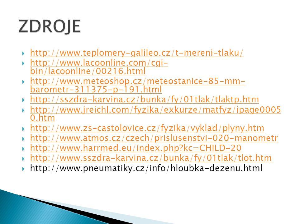  http://www.teplomery-galileo.cz/t-mereni-tlaku/ http://www.teplomery-galileo.cz/t-mereni-tlaku/  http://www.lacoonline.com/cgi- bin/lacoonline/0021