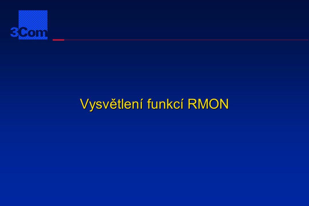 Statistiky RMON Sonda .
