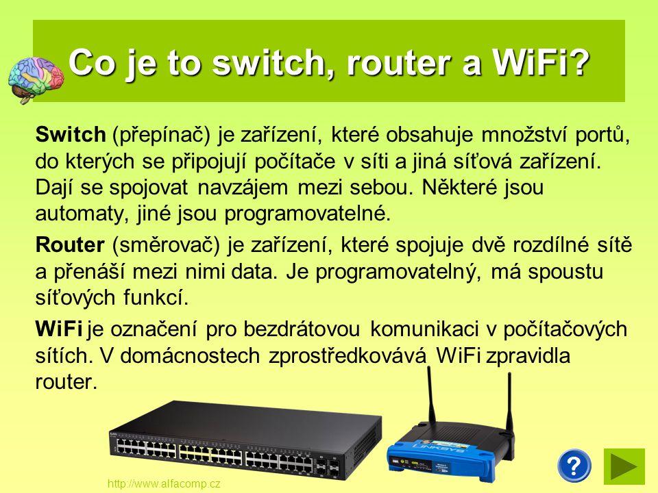 Co znamenají zkratky LAN a WAN.LAN (Local Area Network) - lokální (místní) počítačová síť.