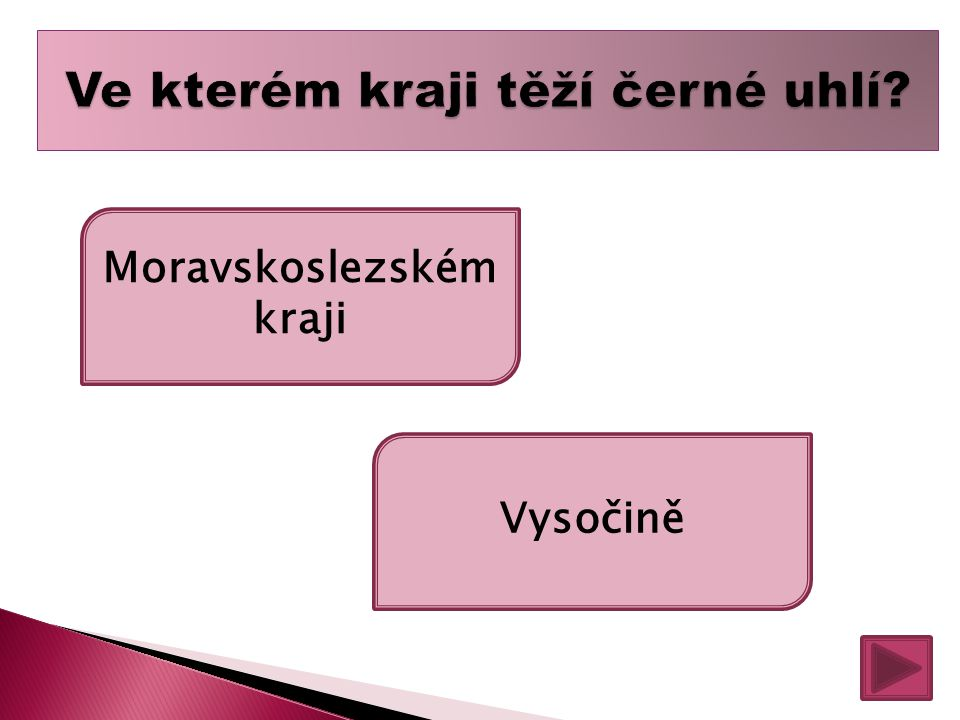 Moravskoslezském kraji Vysočině