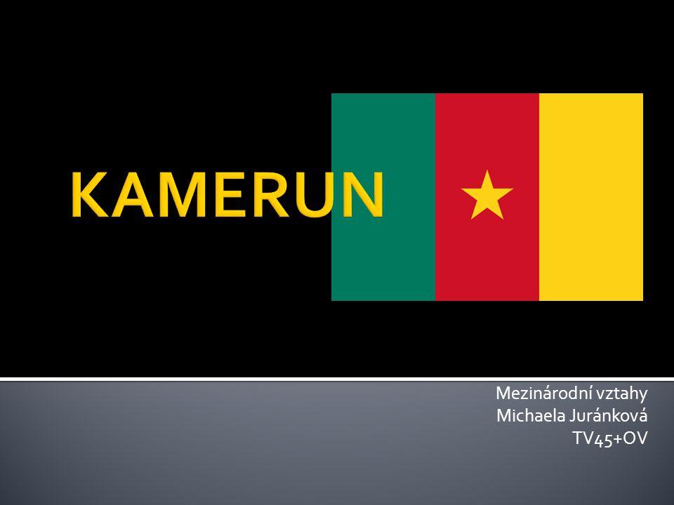  Tropická rovníková země  Nachází se mezi Nigérií, Čadem, Středoafrickou republikou, Kongem, Gabonem a Rovníkovou Guineou  Ofic.