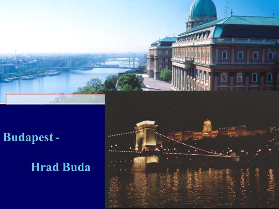 Budapest - Hrad Buda