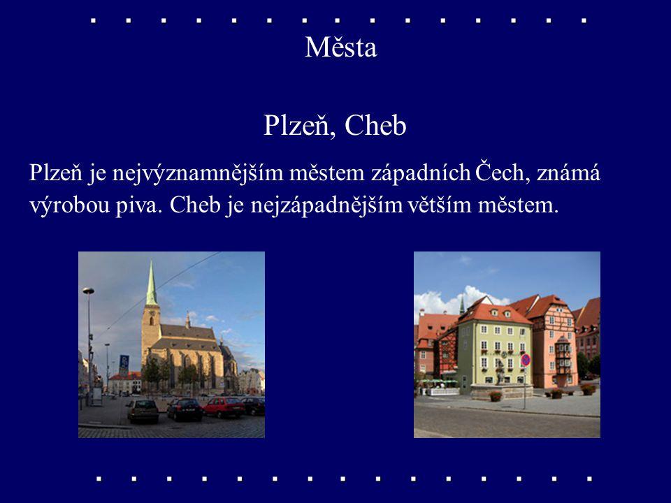 Řeky Mže Vedle Ohře je významnou řekou západních Čech Mže.