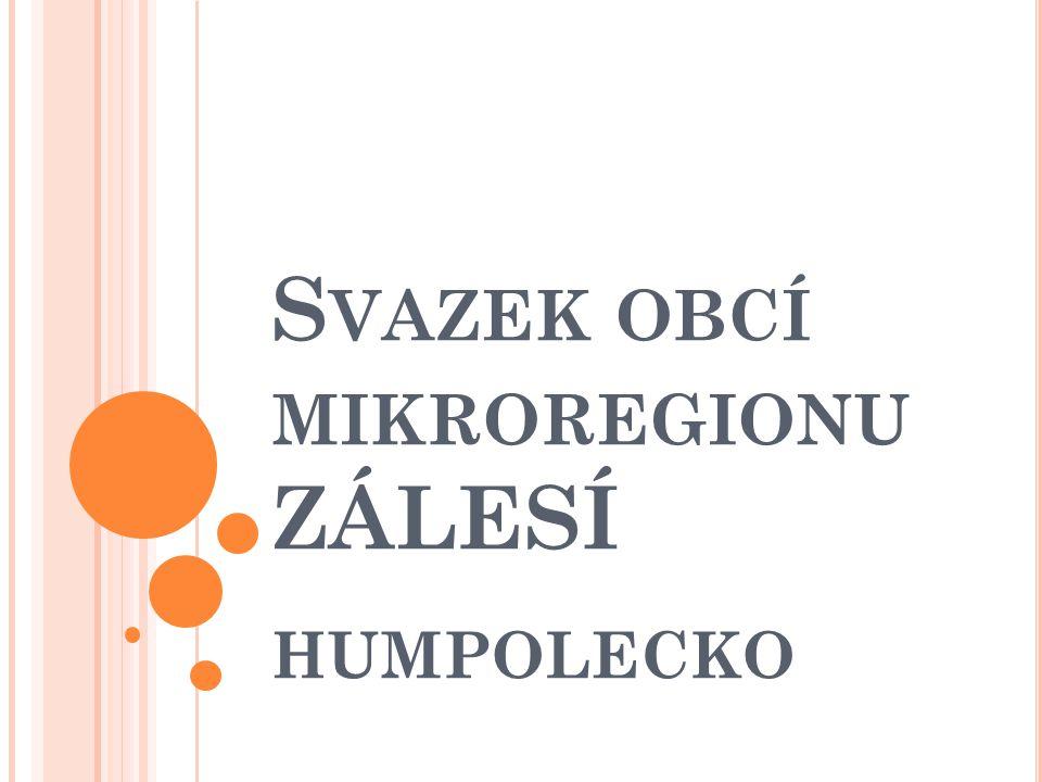 S VAZEK OBCÍ MIKROREGIONU ZÁLESÍ HUMPOLECKO