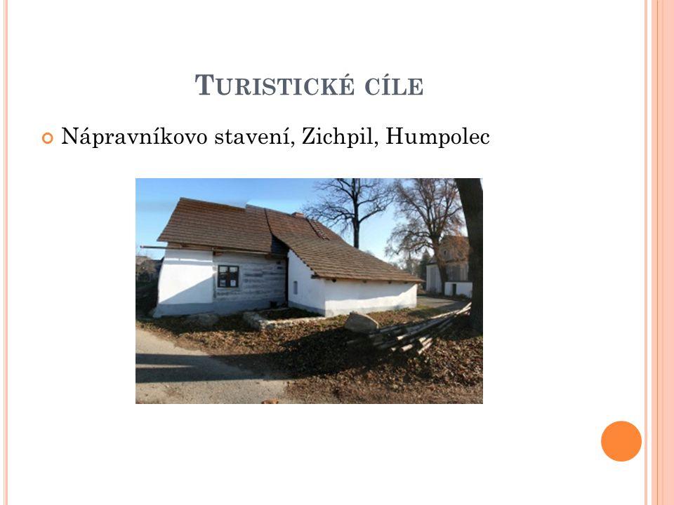 T URISTICKÉ CÍLE Nápravníkovo stavení, Zichpil, Humpolec