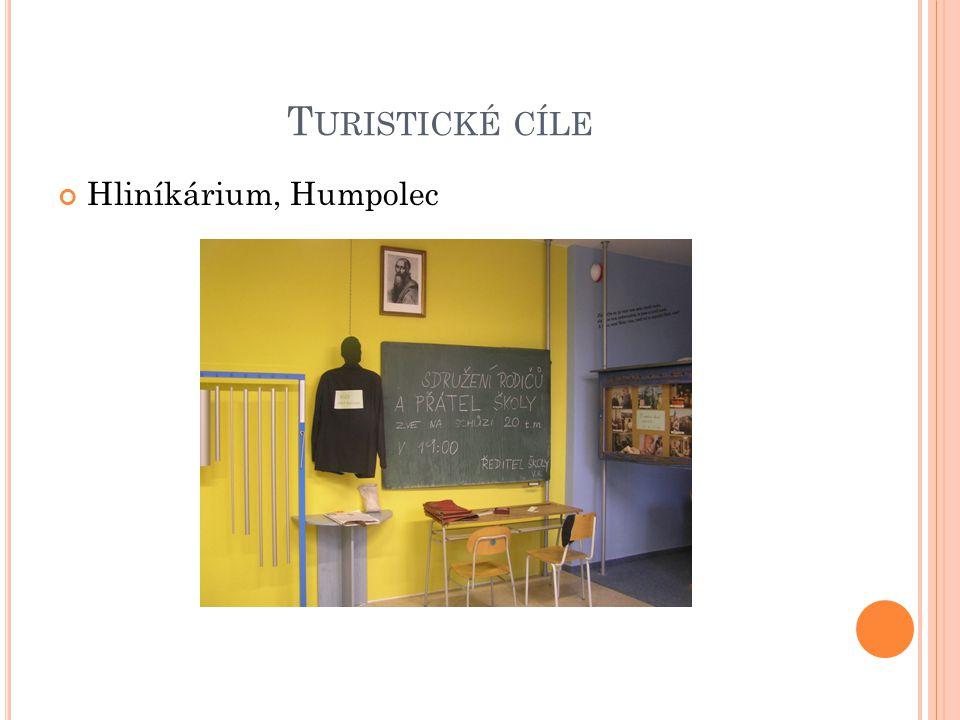 T URISTICKÉ CÍLE Hliníkárium, Humpolec