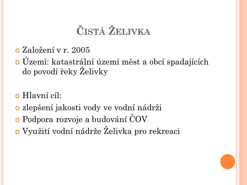 Č ISTÁ Ž ELIVKA Založení v r.