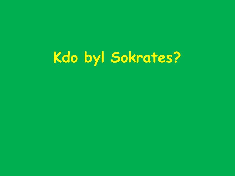 Kdo byl Sokrates?