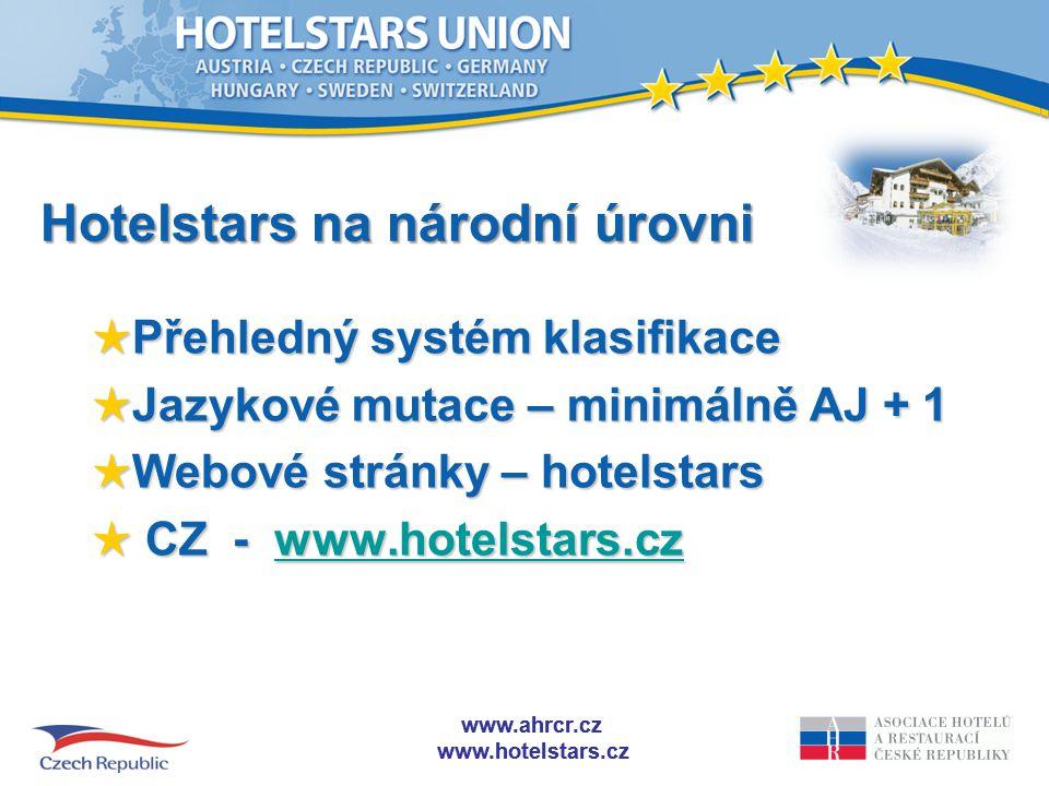www.ahrcr.cz www.hotelstars.cz *************** HOTEL90170250380570 GARNI70150230360- SUPERIOR170250380570650 Systém minimálních a volitelných kritérií ********** PENZION70100140180