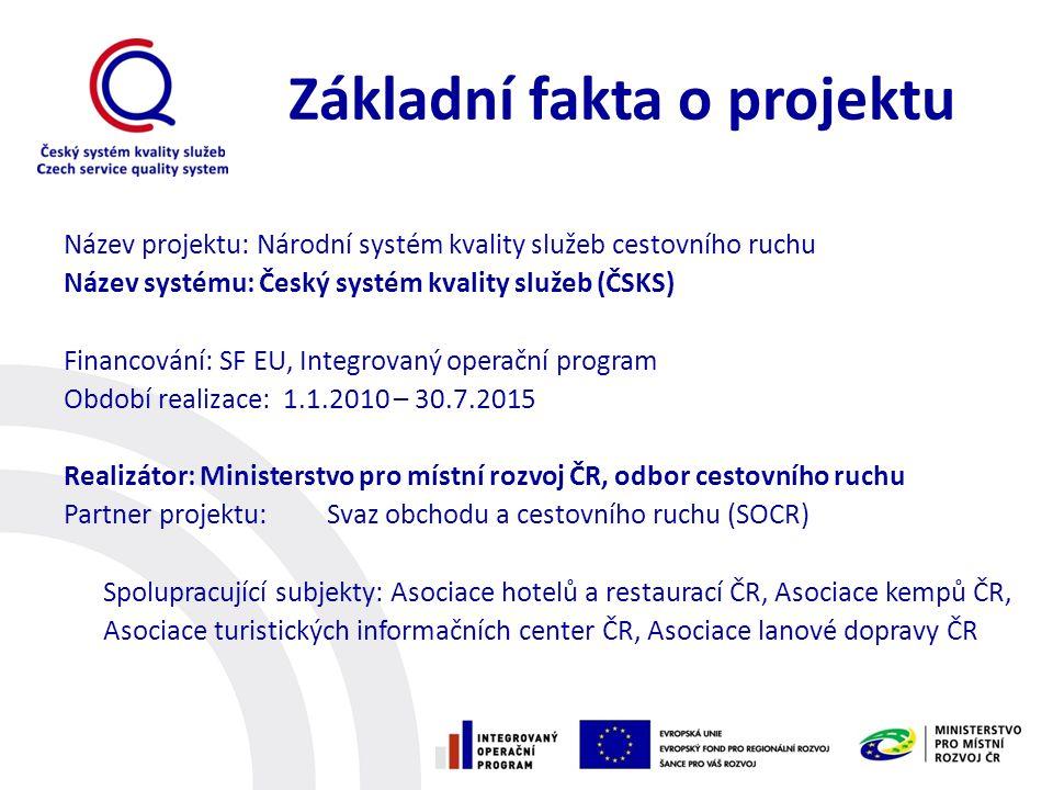 Zapojte se.Český systém kvality služeb začíná tam, kde ostatní končí.