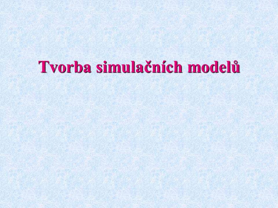 Tvorba simulačních modelů