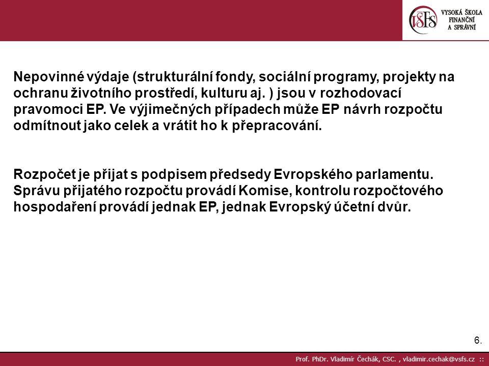 6.6. Prof. PhDr.