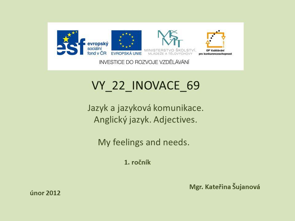 VY_22_INOVACE_69 Jazyk a jazyková komunikace. Anglický jazyk.
