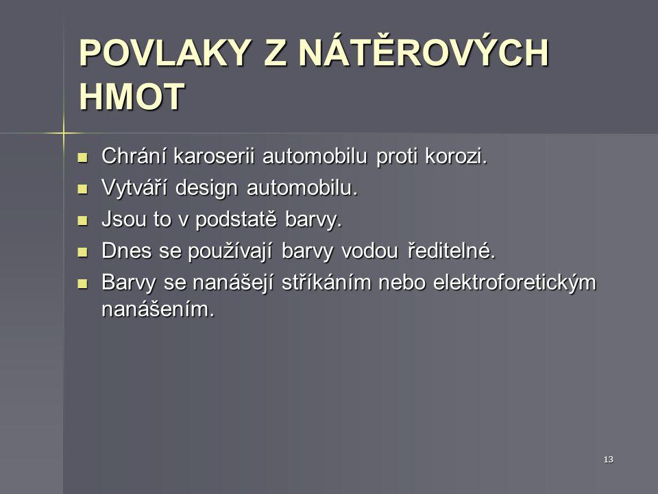 ELEKTROCHEMICKÉ (GALVANICKÉ) POKOVOVÁNÍ Tloušťky povlaků dosahují 10 -3 až 10 -4 mm.
