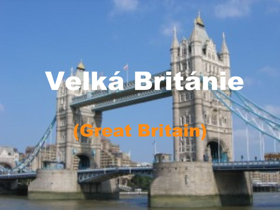Velká Británie (Great Britain)