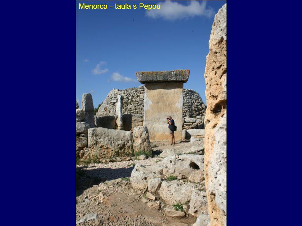 Menorca - taula s Pepou