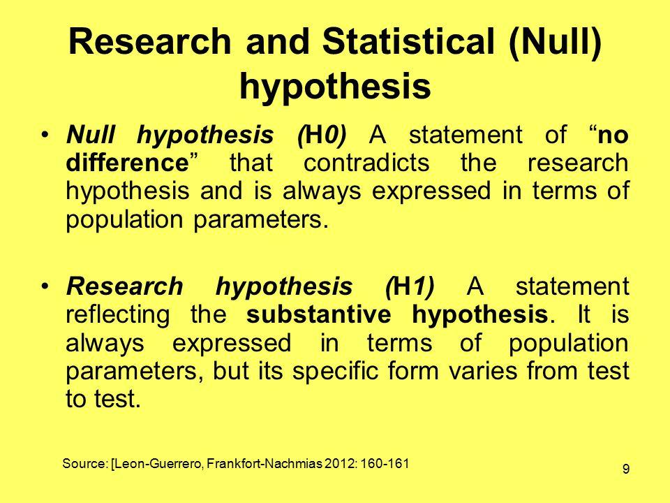 10 Testování statistických hypotéz Z výběrových dat vypočteme testovou statistiku na základě porovnání s kvantily rozdělení této statistiky (za předpokladu platnosti nulové hypotézy) zjistíme, zda je na zvolené hladině spolehlivosti možno nulovou hypotézu zamítnout.