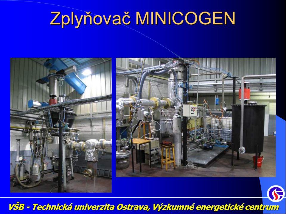 VŠB - Technická univerzita Ostrava, Výzkumné energetické centrum Zplyňovač MINICOGEN