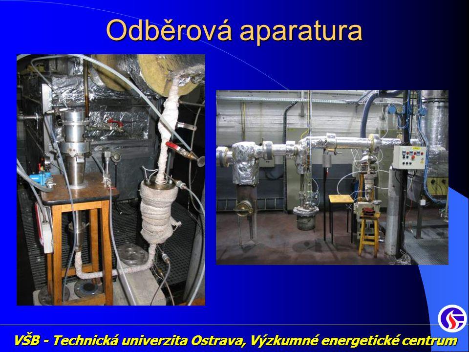 VŠB - Technická univerzita Ostrava, Výzkumné energetické centrum Odběrová aparatura