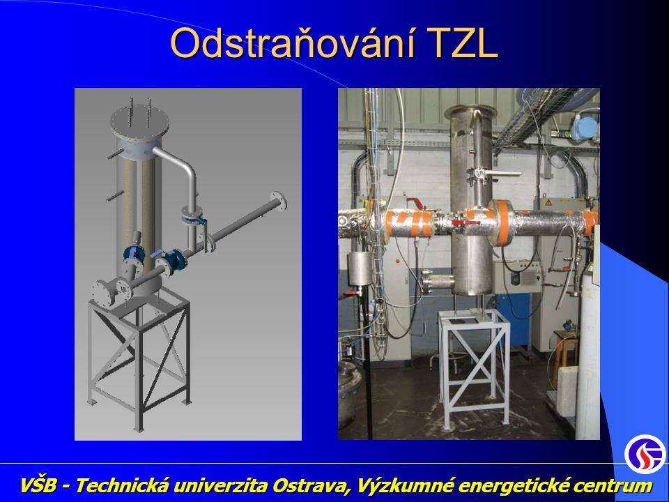 VŠB - Technická univerzita Ostrava, Výzkumné energetické centrum Odstraňování TZL