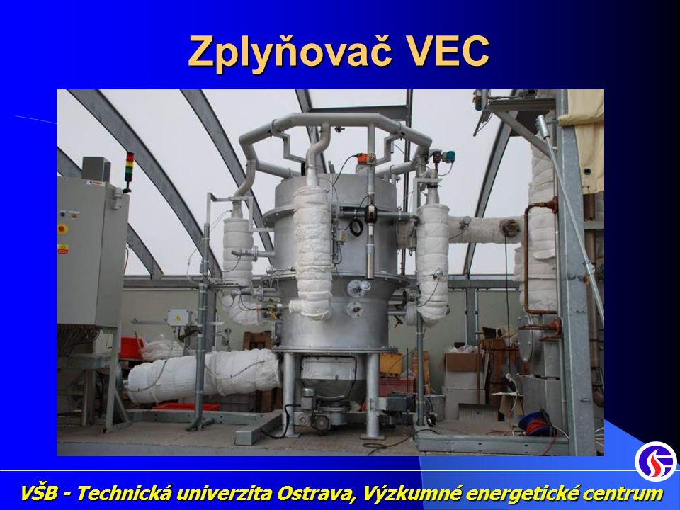 Two stage gasifier DTU, Technical University of Denmark VŠB - Technická univerzita Ostrava, Výzkumné energetické centrum