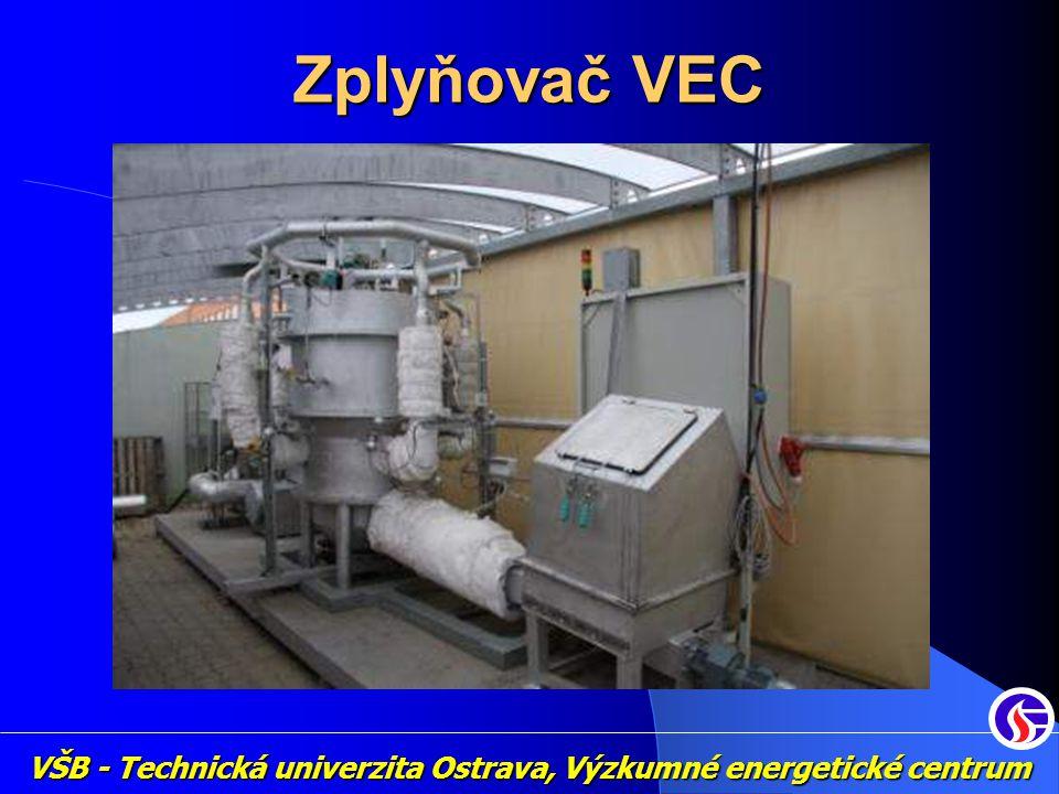 VŠB - Technická univerzita Ostrava, Výzkumné energetické centrum Zplyňovač VEC