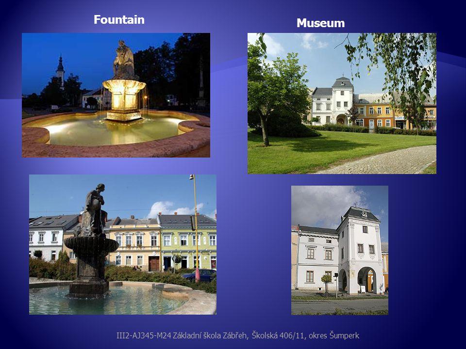 Fountain Museum III2-AJ345-M24 Základní škola Zábřeh, Školská 406/11, okres Šumperk