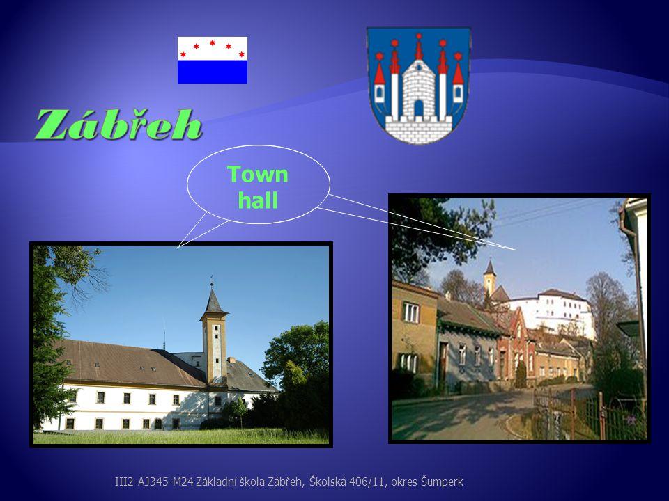 Town hall III2-AJ345-M24 Základní škola Zábřeh, Školská 406/11, okres Šumperk