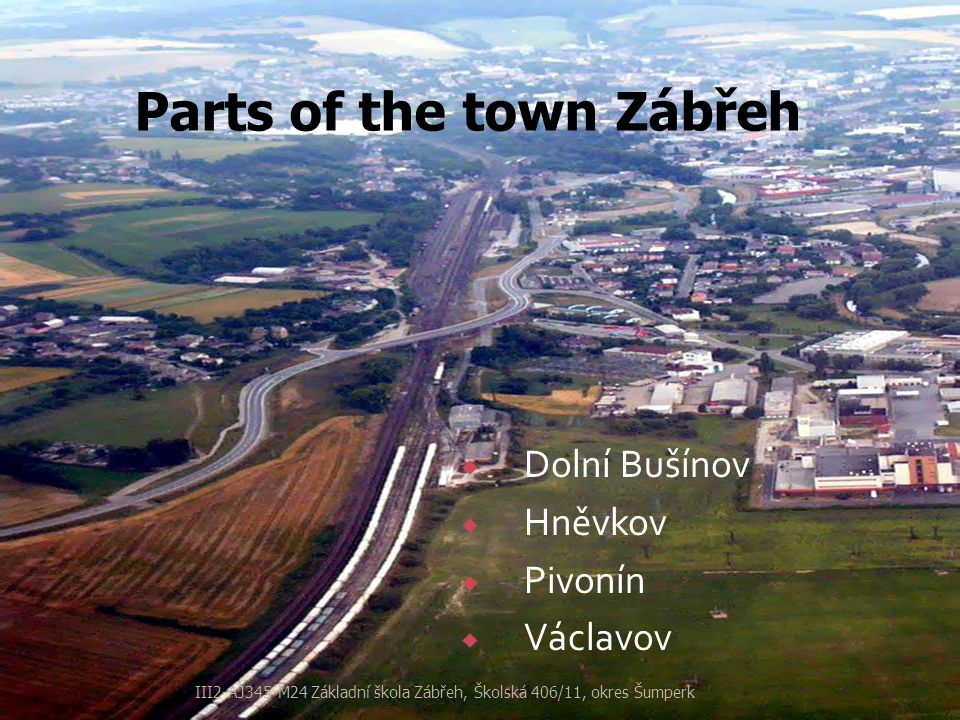  Zábřeh has a long and rich history.The first mention about the town is dated in the13th century.