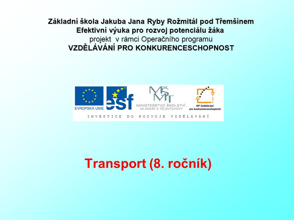 Transport (8.