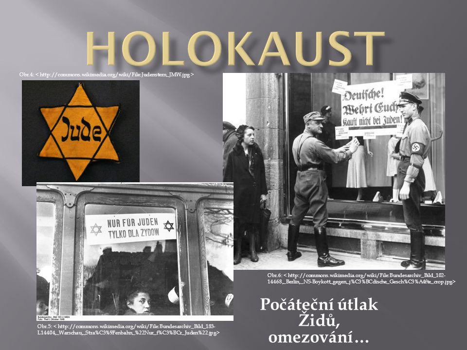 Pokračující útlak Židů, ghetta, izolace… Obr.7: Obr.8: