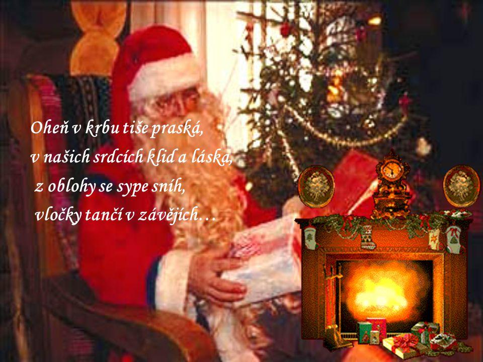 Najdu krámek za lesní tůní, koupím tam dárek s vánoční vůní.