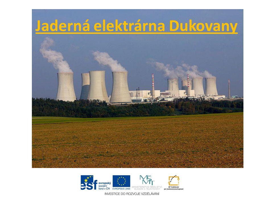 Využití jaderné energie Nejvýznamnějším využitím jaderné energie je výroba elektrické energie v jaderných elektrárnách.