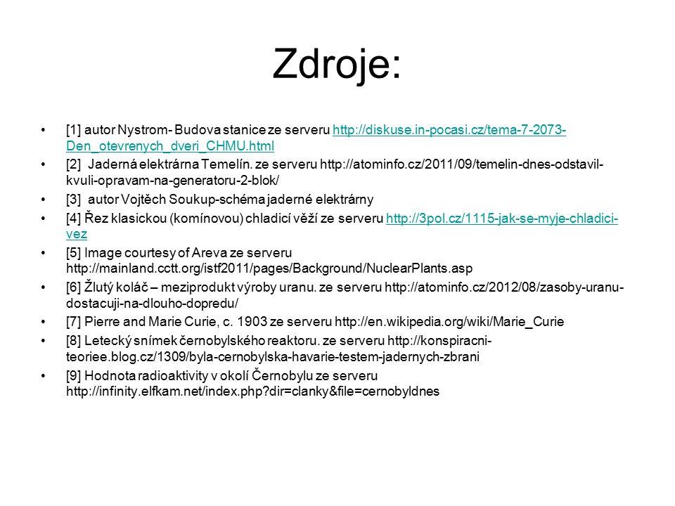 Zdroje: [1] autor Nystrom- Budova stanice ze serveru http://diskuse.in-pocasi.cz/tema-7-2073- Den_otevrenych_dveri_CHMU.htmlhttp://diskuse.in-pocasi.c