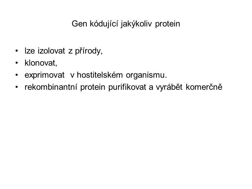 Přirozeně se vyskytující proteiny se jen vzácně hodí přímo pro průmyslové aplikace Např.