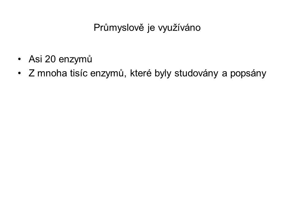 Zvyšování enzymové aktivity (Glick a spol.2003)