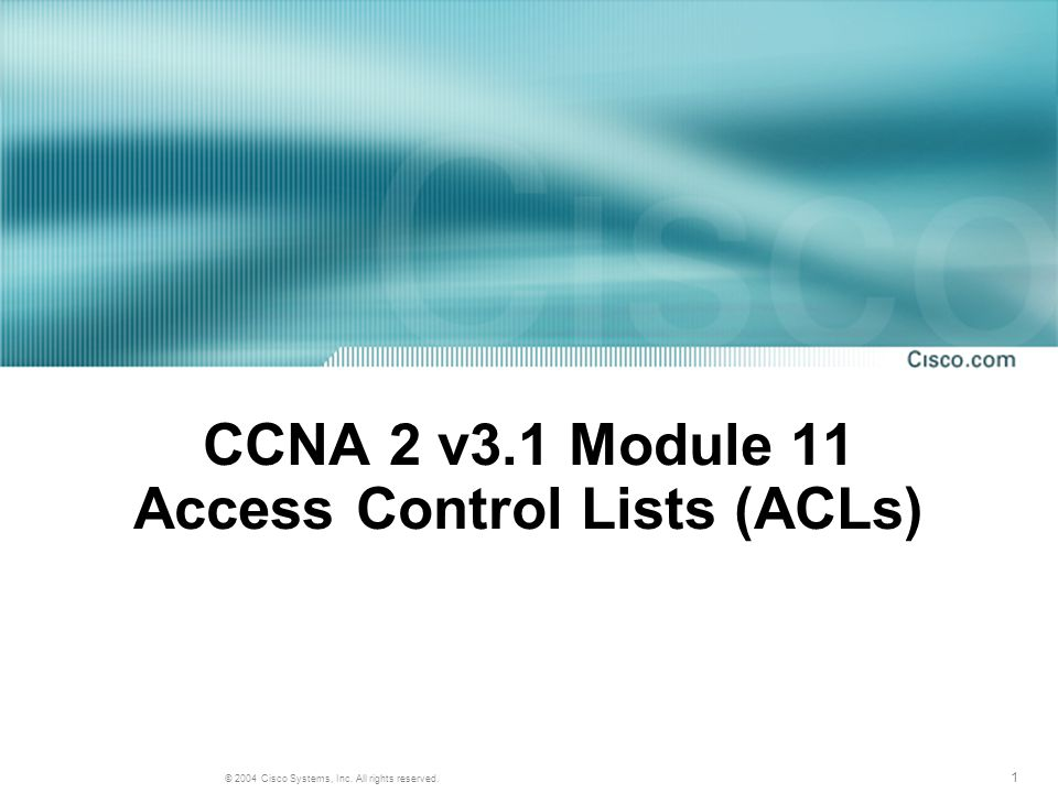 22 © 2004, Cisco Systems, Inc. All rights reserved. Summary