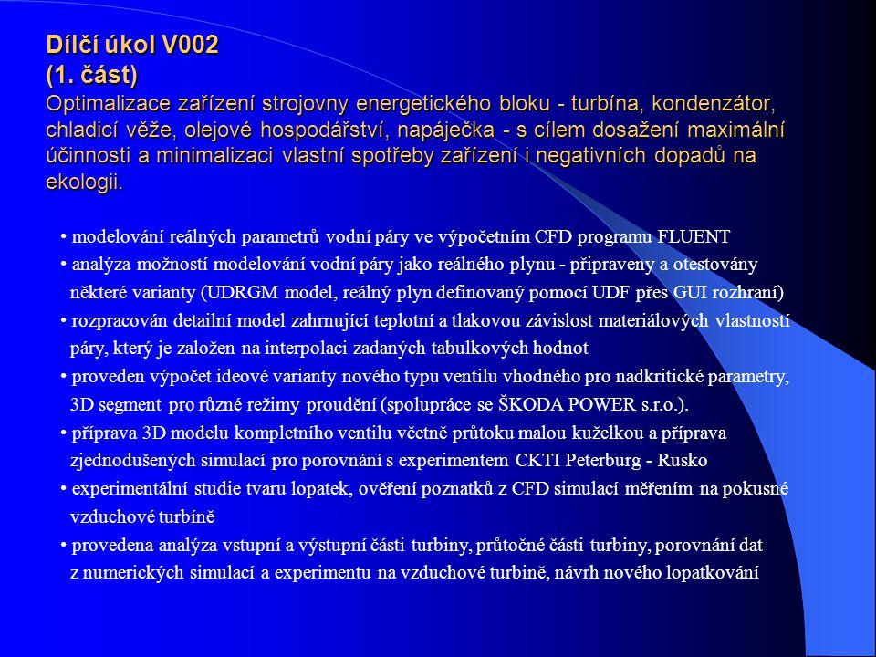 Dílčí úkol V002 (1.