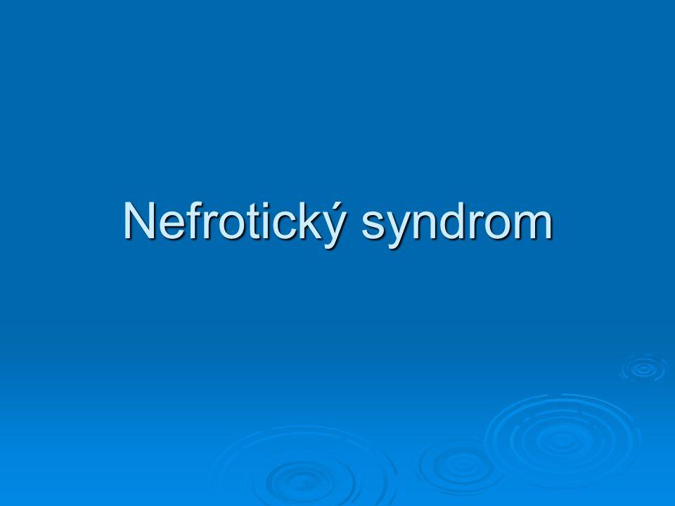 Nefrotický syndrom