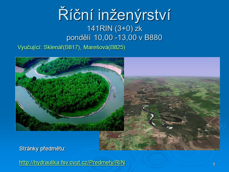 2 Nabídka témat referátu – Řízení povodní  1.Bleskové povodně  2.