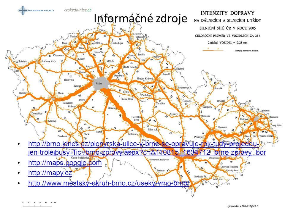 Informáčné zdroje http://brno.idnes.cz/pionyrska-ulice-v-brne-se-opravuje-rok-tudy-projedou- jen-trolejbusy-1ic-/brno-zpravy.aspx?c=A110815_1634712_br