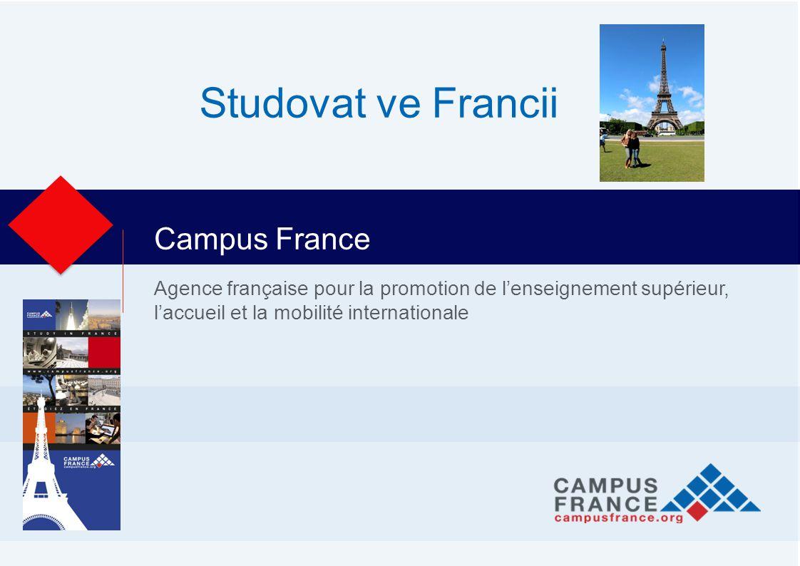 Agence française pour la promotion de l'enseignement supérieur, l'accueil et la mobilité internationale Campus France Studovat ve Francii