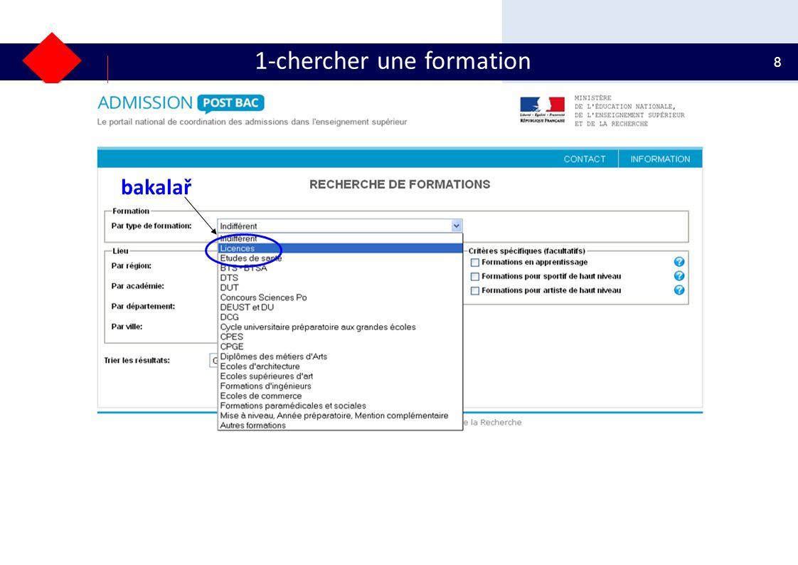 29 2- constituer un dossier Pouze jestli chci studovat CPGE v internátu