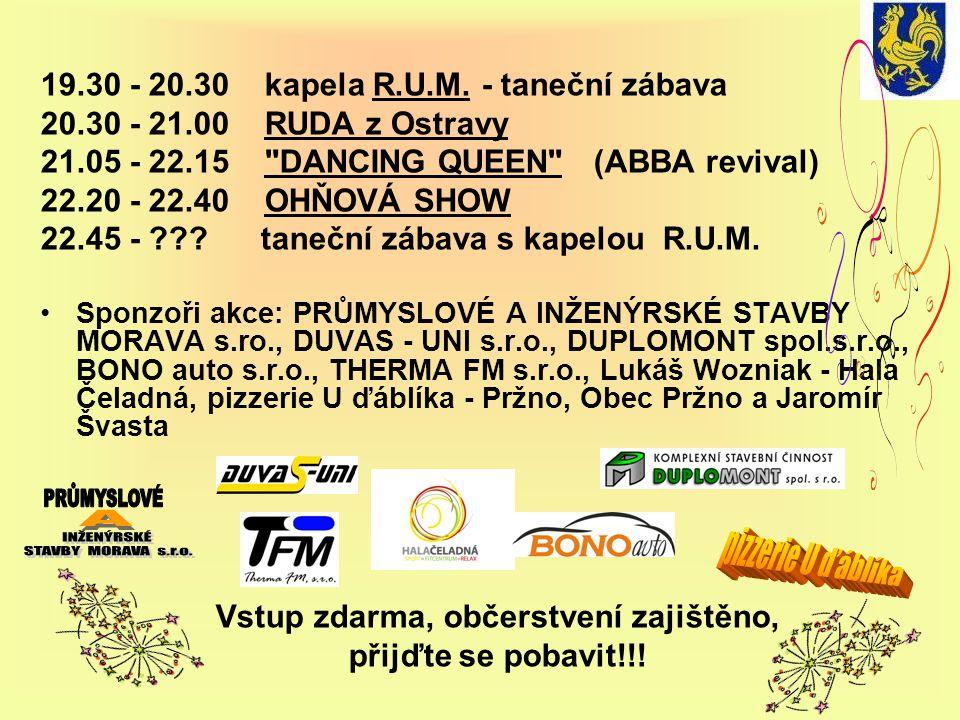 19.30 - 20.30 kapela R.U.M.