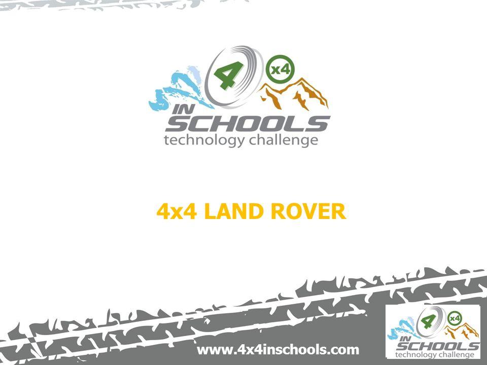 www.4x4inschools.com 4x4 LAND ROVER