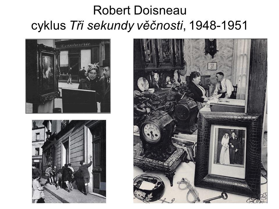 Robert Doisneau cyklus Tři sekundy věčnosti, 1948-1951