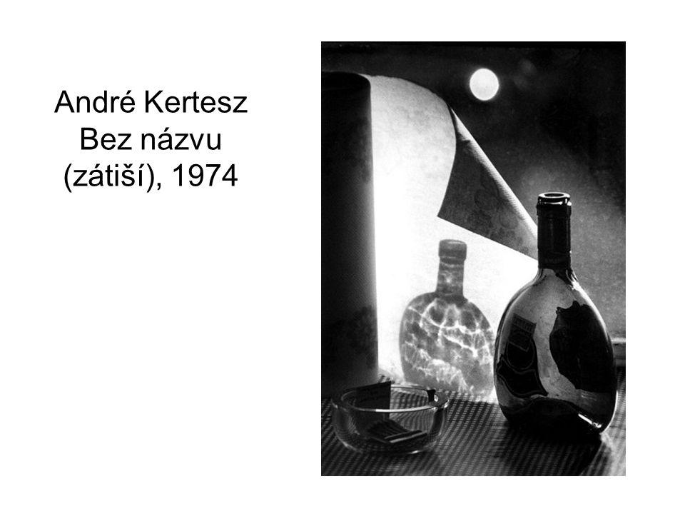 André Kertesz Bez názvu (zátiší), 1974