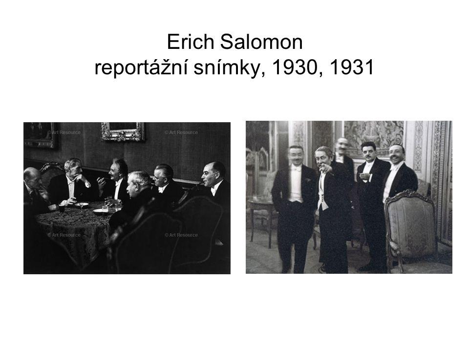 Erich Salomon reportážní snímky, 1930, 1931